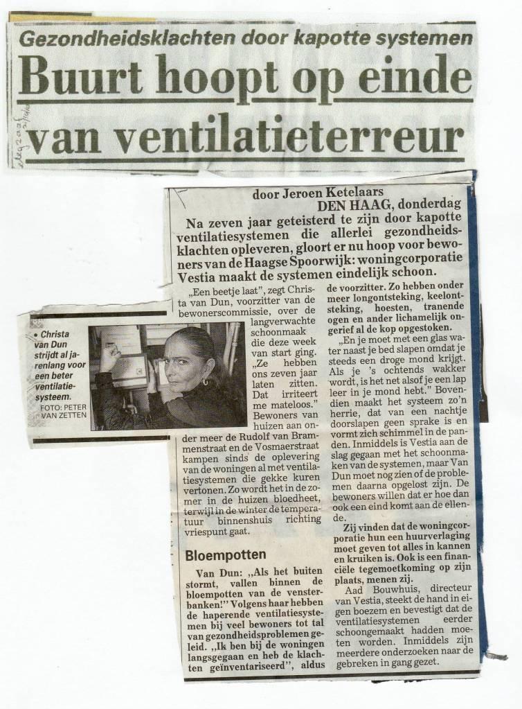 Telegraaf 21.10.2010